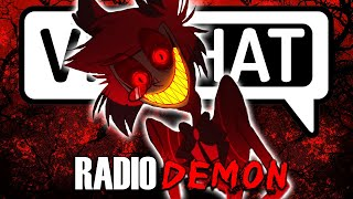 The Voice of Radio Demon TERRIFIES VRchat users (Alastor)