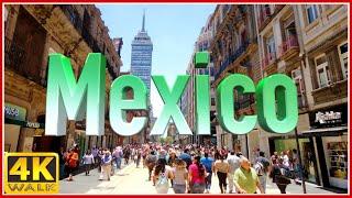 4K WALK MEXICO CITY Virtual Walk CDMX Slow Tv TRAVEL VIDEO, Documentary