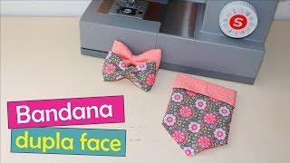 #12 Moda Pet: Bandana Dupla Face