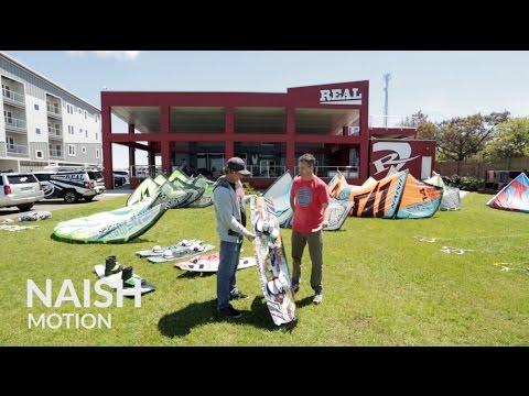 2015 Naish Motion Kiteboard Review with Robby Naish