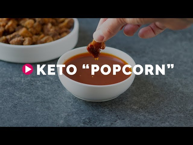 Keto Popcorn Low Carb Dairy Free Healthful Pursuit