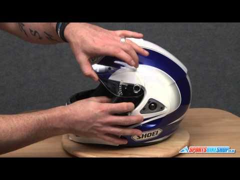 How To Change A Shoei CX1-V Visor