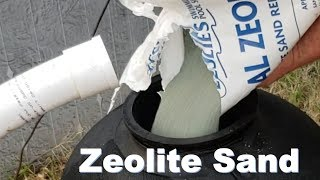 Changed My Sand In My Swimming Pool Filter To Zeolite Sand