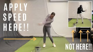 SWING TOO FAST?? RUSHING THE DOWNSWING?? SIMPLE AT HOME TIPS FOR ALL YOUR CLUBS-Golf WRX