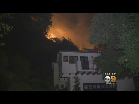 Thomas Fire Threatens Homes In Santa Barbara