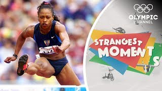 Gail Devers' Olympic journey was not without the odd setback | Strangest Moments