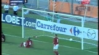 Argentina 8-0 England - 2003  Toulon Under-21 Tournement