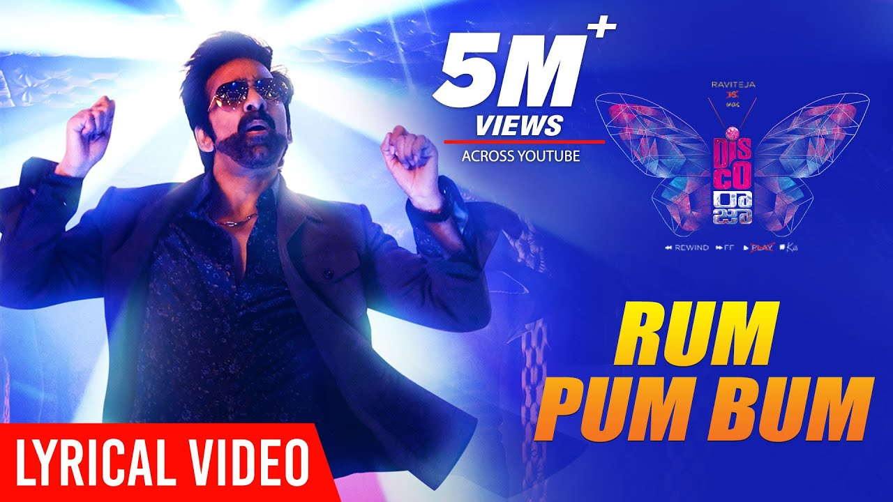 Rum Pum Bum Lyrical Video From Disco Raja