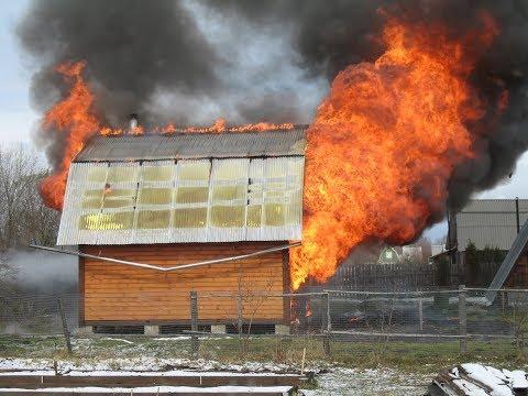 Какой дом легко выдержит пожар?