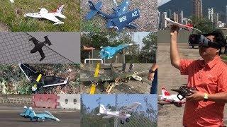 RC Plane Crash Compilation 2020 (Hong Kong) by dji MP, dji OA & iPhone