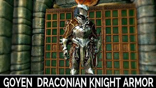 Skyrim Special Edition: ▶️Goyen, Draconian Knight Armor◀️ Mini Mod Showcase