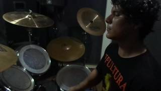 Chaos UK -  No security (Drum Cover)