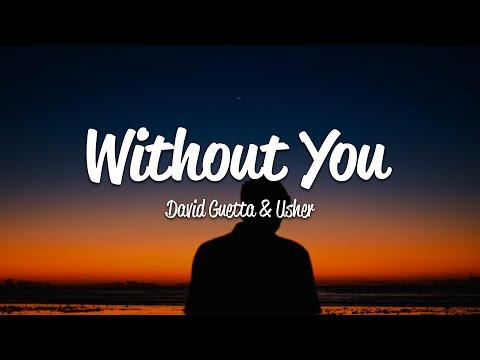 David Guetta - Without You (Lyrics) ft. Usher