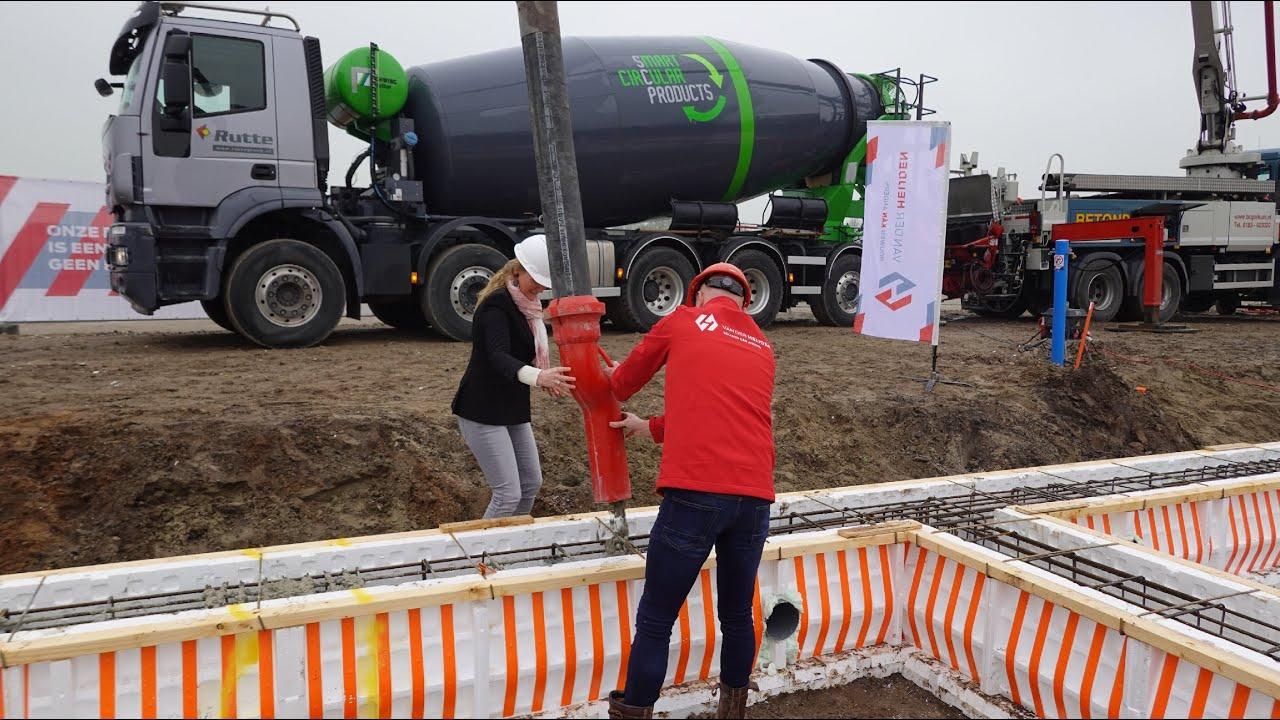Circulair beton voor woonbuurt Westwaard in Kaatsheuvel