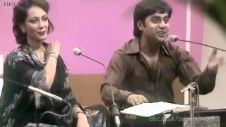 The Legends - Jagjit & Chitra Singh, Kothe Te Aa Mahiya - Punjabi Tappe, recorded at BBC in 1979  IMAGES, GIF, ANIMATED GIF, WALLPAPER, STICKER FOR WHATSAPP & FACEBOOK