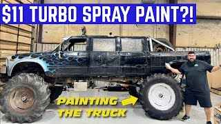 I Bought The VIRAL Rustoleum Turbo Paint To TEST It On My TRUCK