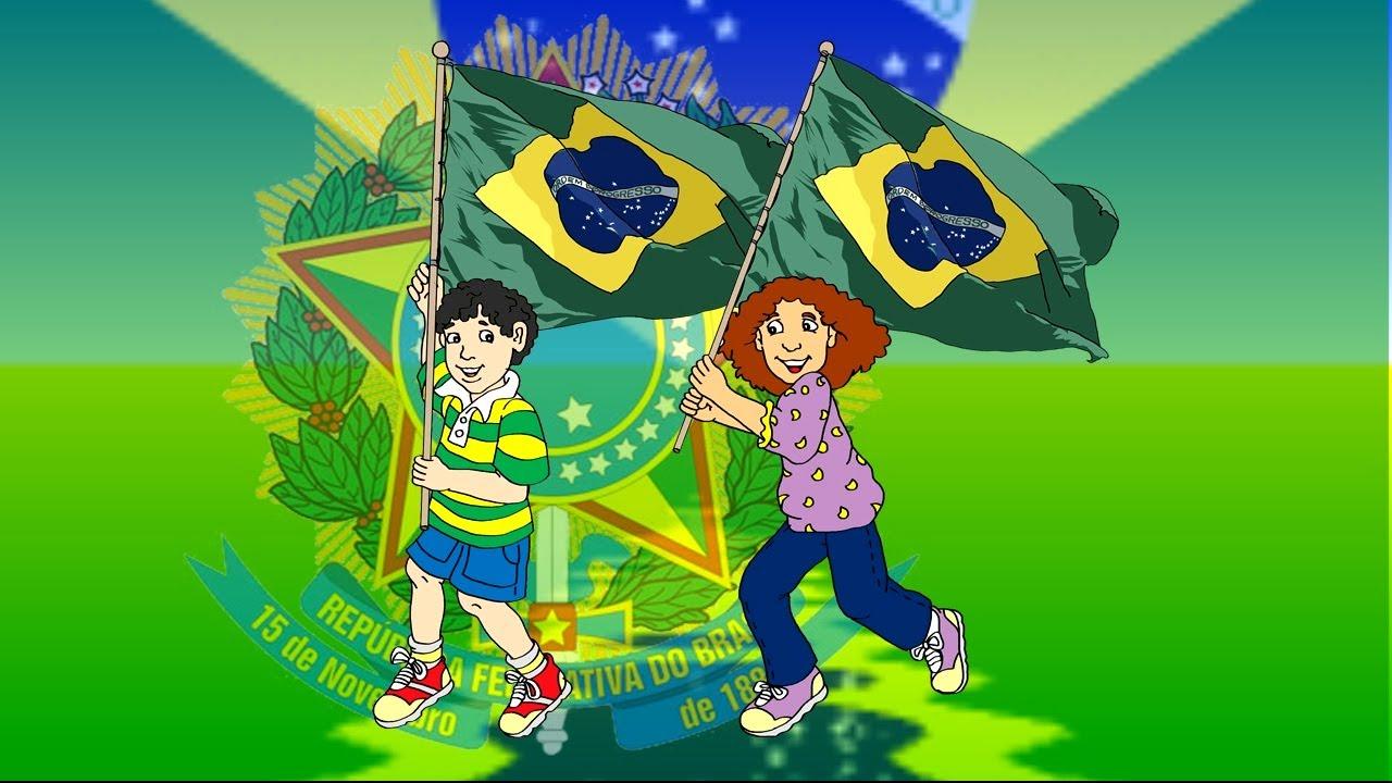 HINO NACIONAL BRASILEIRO COMPLETO