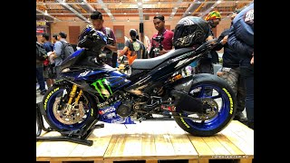 Yamaha Y15ZR Geng Tayar Besar, Kos Bikin RM38K Sahaja!