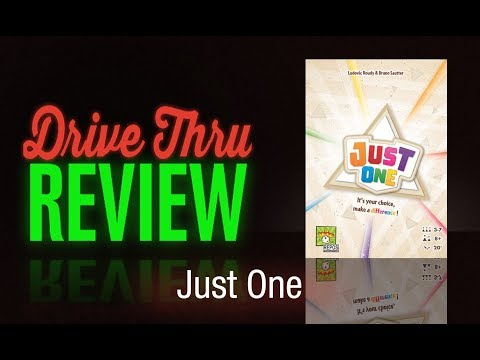 "[DriveThruReview] #636: ""Just One"""