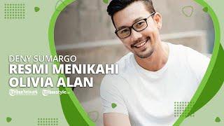 Gelar Pemberkatan Berlatar Belakang Pegunungan, Denny Sumargo Resmi Menikahi Olivia Alan