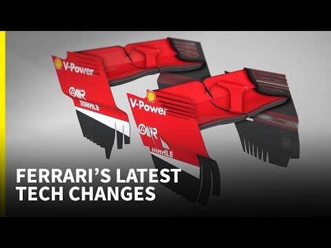 Ferrari's hit and miss upgrades in recent races