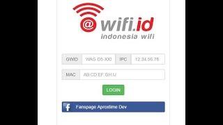 Tutorial Login Tool Wifi.ID - Web Version