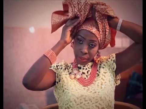 How to tie TAKE A BOW Gele by yourself -  Headgear (DIY) FULL TUTORIAL