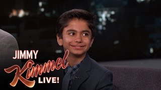 """How Neel Sethi Got His Part in """"The Jungle Book"""""""