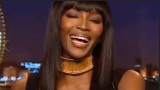 Naomi Campbell's Shades Are Really Entertaining.