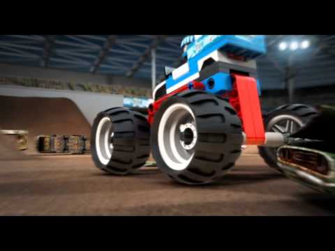 Vidéo LEGO Racers 9094 : Star Striker