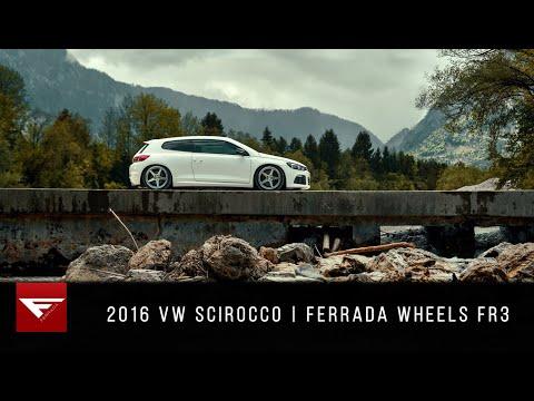 2016 Volkswagen Scirocco | Hidden in Austria | Ferrada Wheels FR3