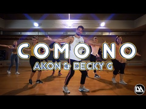 Como No - Akon ft. Becky G by Lessier Herrera Zumba