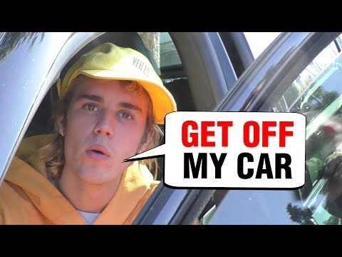 ANGRY Justin Bieber FIRES Paparazzi, TEACHES Them Manners On Camera