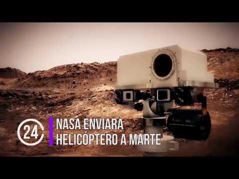 Enviará la NASA helicóptero a Marte