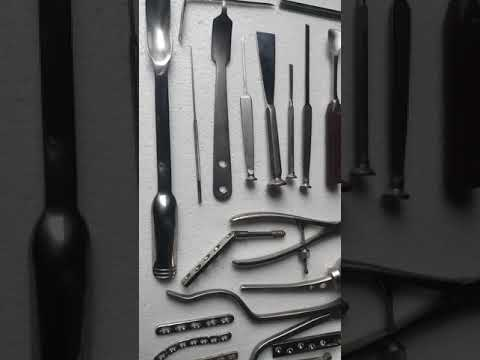 Body Implant Surgical Instruments