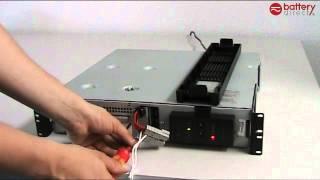 RBC22, RBC23, RBC24, RBC132 und RBC133 Batterietausch für APC Smart UPS USV
