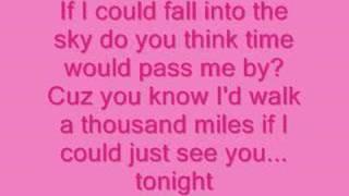 <b>Vanessa Carlton</b>A Thousand Miles Lyrics