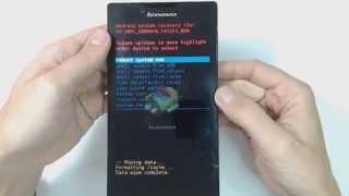 Lenovo Tab 2 A7-30 hard reset