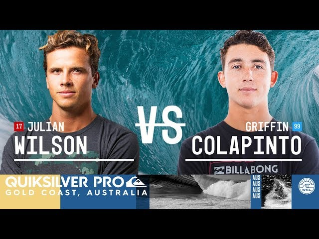 Julian Wilson vs. Griffin Colapinto - Semifinals, Heat 2 - Quiksilver Pro Gold Coast 2018
