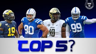 Will the Colts defensive line be in the top 5 this season?