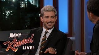 Zac Efron on Skiing Accident & Living with His Brother