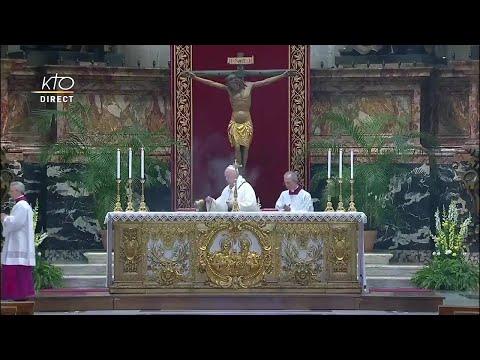 Messe de la Résurrection à Rome