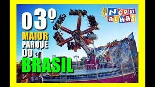 MAIORES PARQUES DE DIVERSÃO DO BRASIL (PARTE 01) - 3º LUGAR
