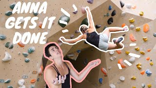 Meet Anna the New Climbing Girl Crusher by Bouldering DabRats