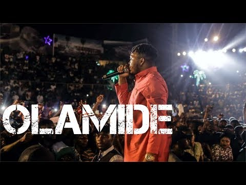 Olamide's Performance at Ogun State Cross Over Night 2019