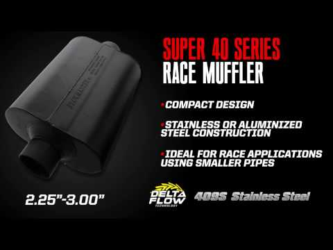 Flowmaster Racing Mufflers / Silencers Explained