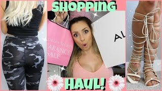 Shopping Haul - Shoes, Makeup, Leggings & MORE! by Piink Sparkles