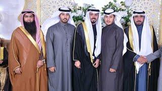 حفل زواج 💑 فيصل بن شافي 💘بحضور كوكبة من نجوم قناة بداية 😍شيلة وابيات شعرية اهداء للعريس😘