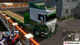 euro truck simulator 2 BETA 1.32 UPDATE frirst drive/look
