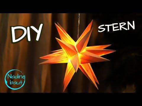 Weihnachtsdeko selber machen - 3D Weihnachtsstern - Stern aus Holz bauen - how to make a wooden star